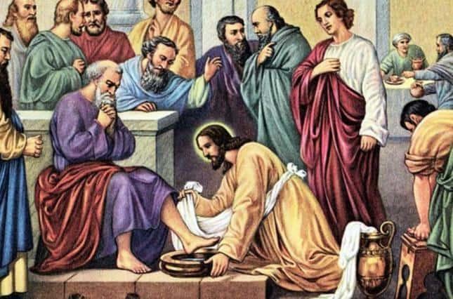 Омовение ног Христом