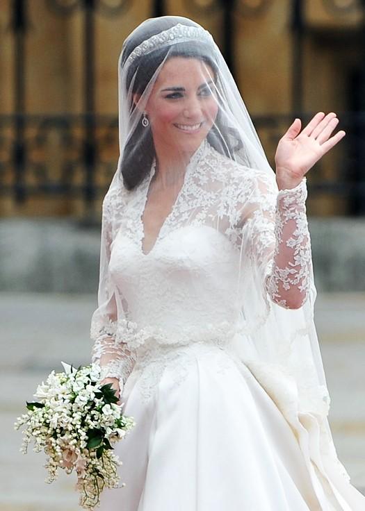 Свадебный букет Кейт Мидлтон