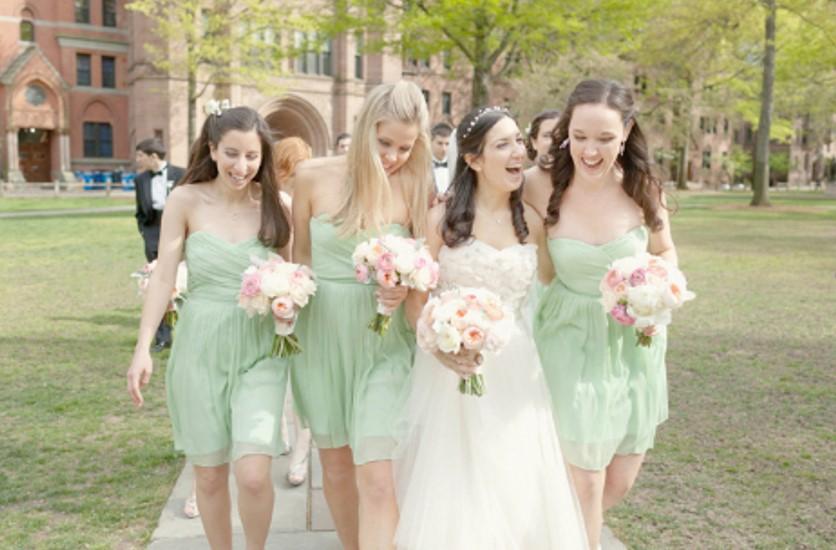 Мятный оттенок свадьбы Свадьба