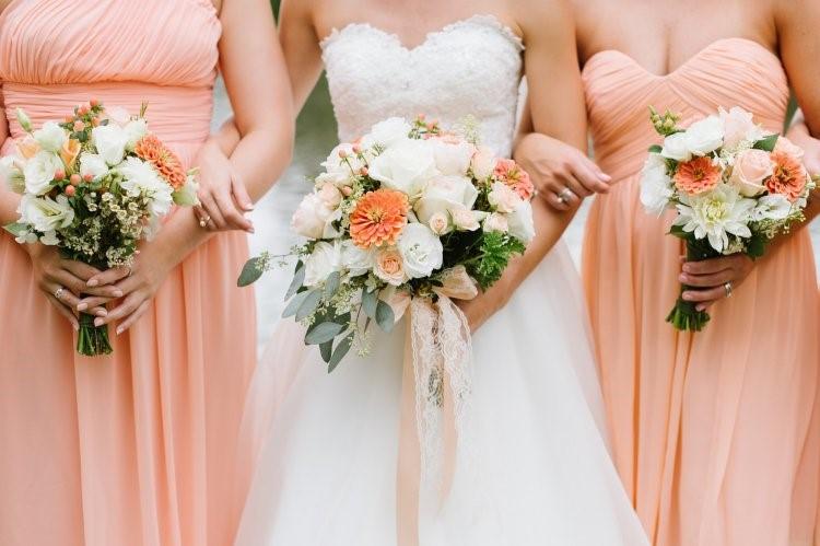 Цвет мускусной дыни на свадьбе Свадьба