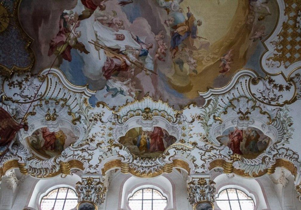 Роспись церкви Визкирхе, Бавария