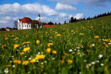 Церковь Вискирхе, Бавария