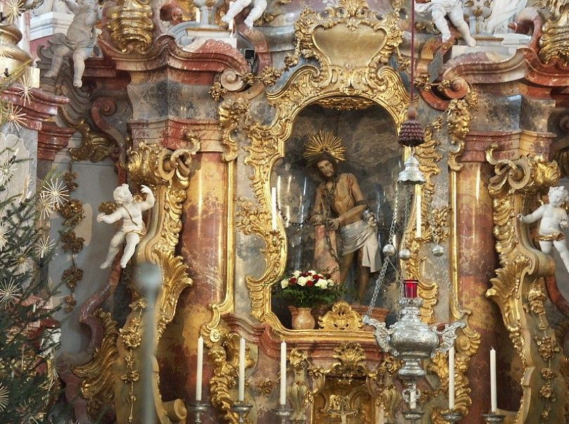 Алтарь церкви Вискирхе