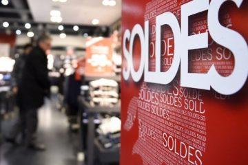 Зимние распродажи в Париже