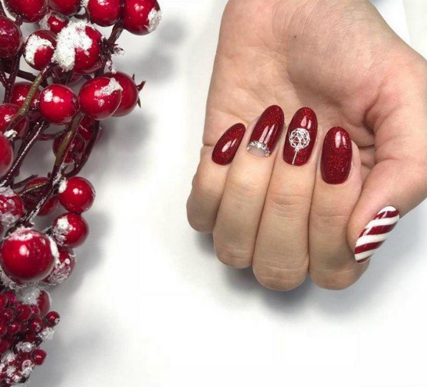 Новогодние ногти