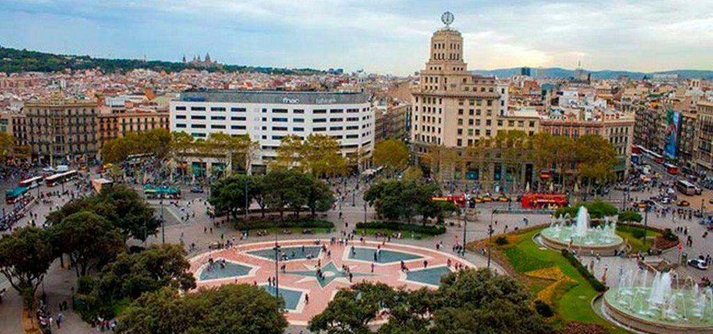 Площадь Каталонии, Барселона
