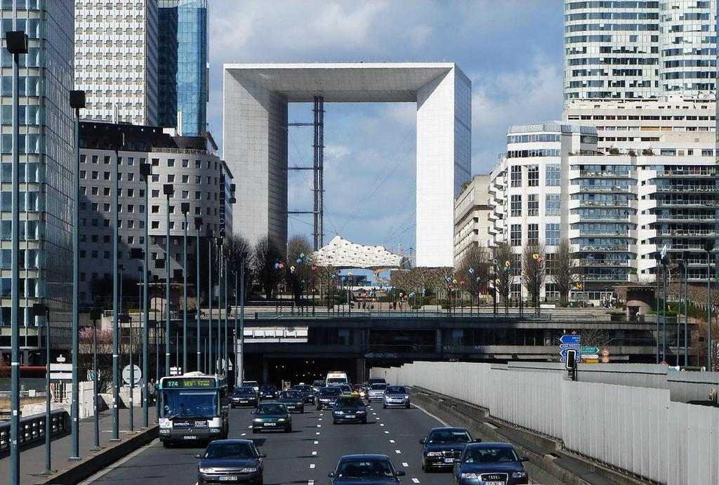 Большая арка братства (La Grande Arche de la Fraternité), Париж - интересные достопримечательности