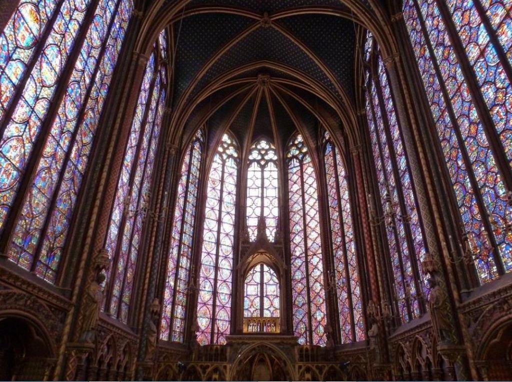 Сент-Шапель (Святая капелла) Sainte-Chapelle, Париж - интересные достопримечательности