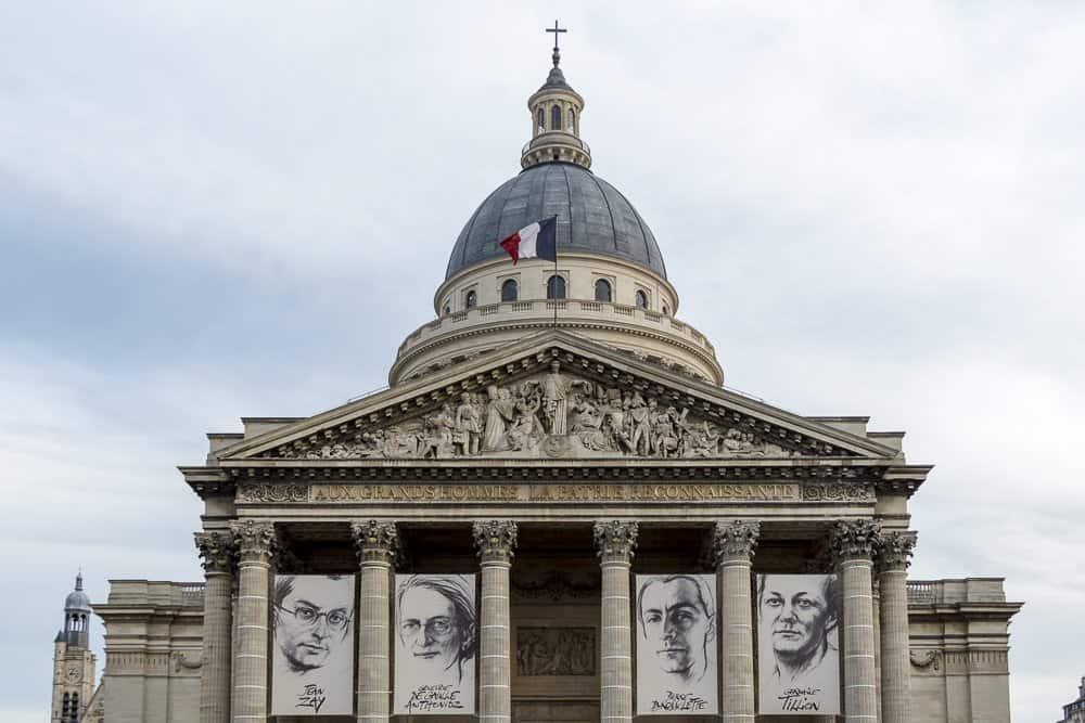 Пантеон (Panthéon), Париж - интересные достопримечательности