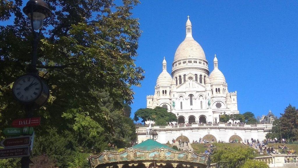 Базилика Сакре-Кёр (Basilique du Sacré-Cœur), Париж - интересные достопримечательности