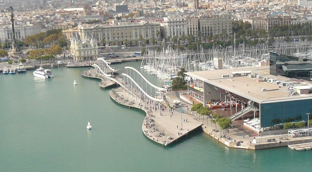 Морская Рамбла, Барселона