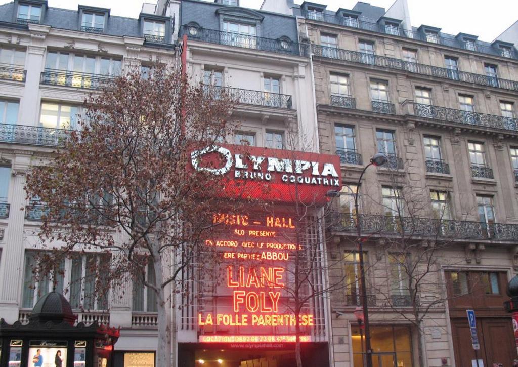 Олимпия (Olympia Bruno Coquatrix), Париж - интересные достопримечательности