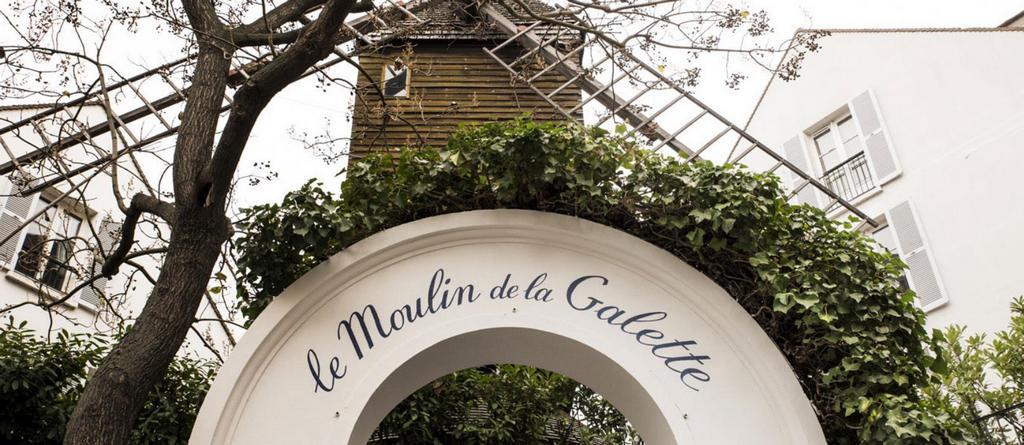 Мулен де ла Галетт (Moulin de la Galette), Париж - интересные достопримечательности