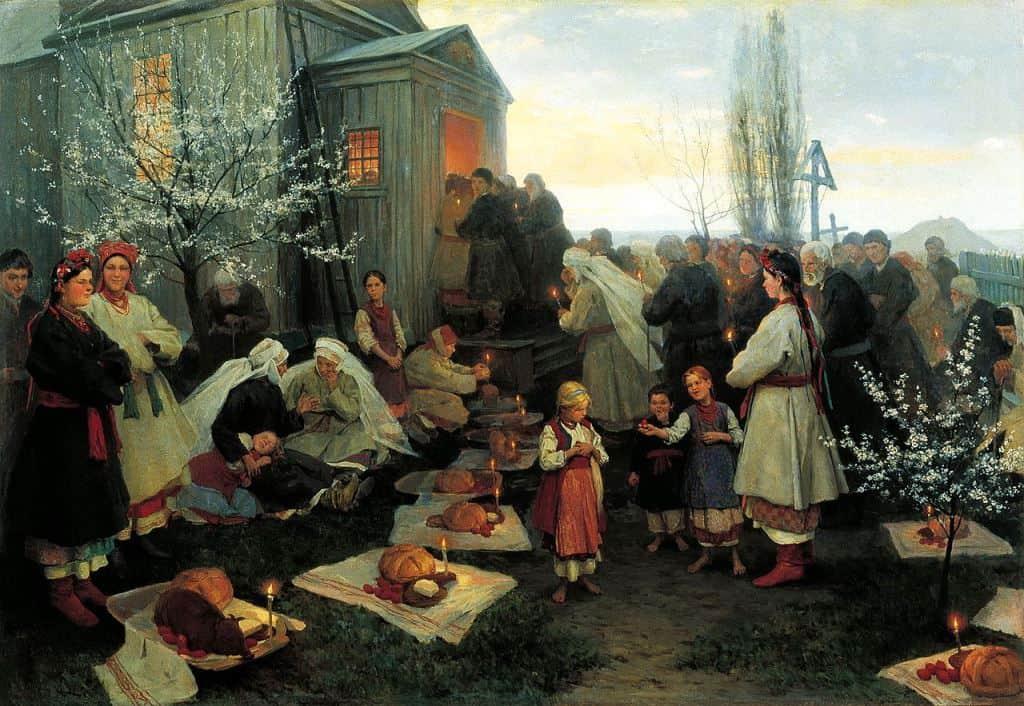 Пасха в Малороссии
