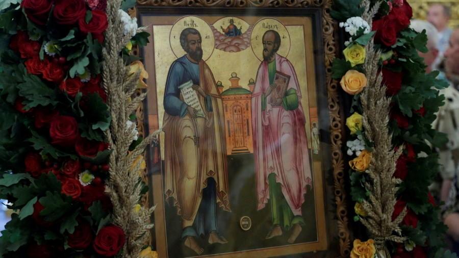 Икона первоверховных апостолов Петра и Павла, Петров пост и Праздник Ивана Купала 2020