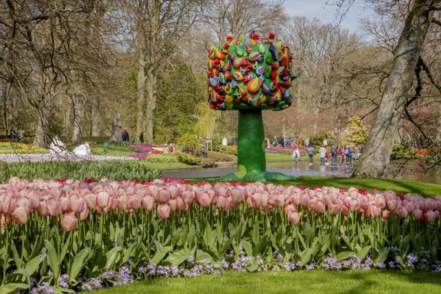 Визуальное искусство парка Кекенхоф