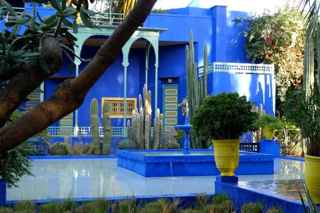 Сад Мажорель Марокко