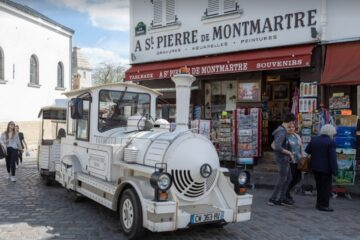Promotrain - Petit Train de Montmartre Паровозик на Монмартре