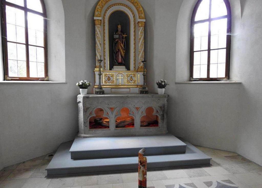 Часовня на холме Трех Крестов Фюссен