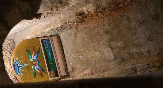 Гробница праведного Симеона Богоприимца на месте его дома в Иерусалиме. Место захоронения святого Симеона Богоприимца.