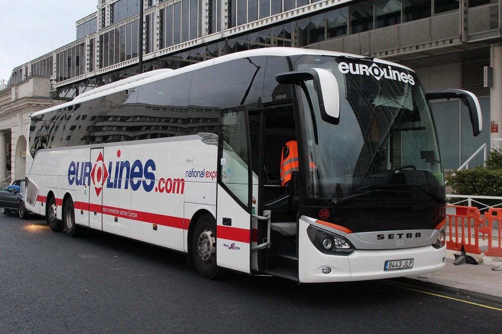 Сеть автобусных компаний Европы - Eurolines