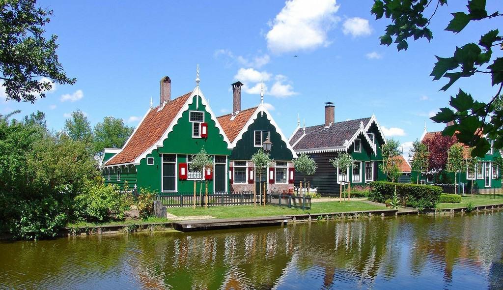еревня Заансе Сханс (Zaanse Schans) - Амстердам Нидерланды
