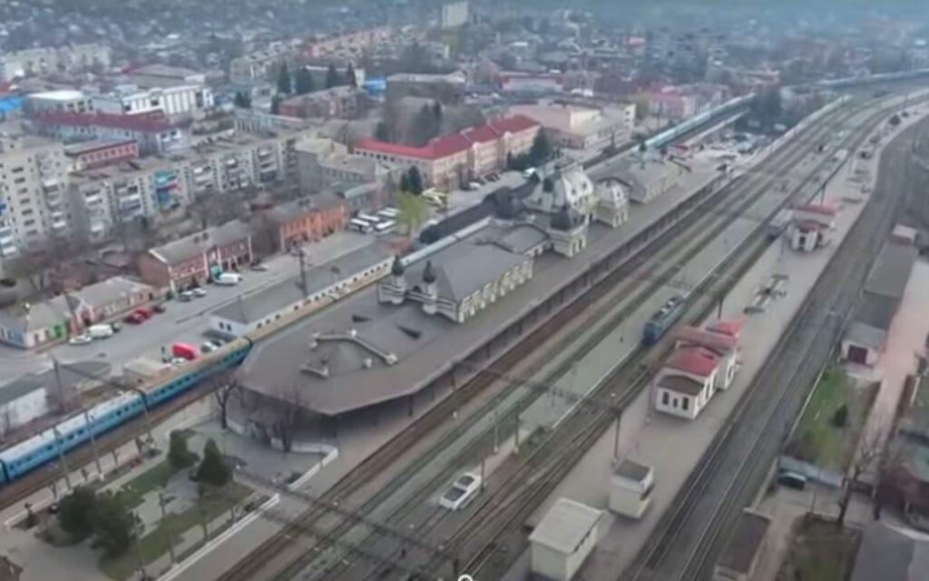Вокзал-корабль, Жмеринка